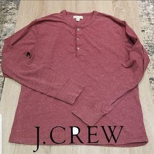 J.Crew. Knit Goods. Henley Shirt.